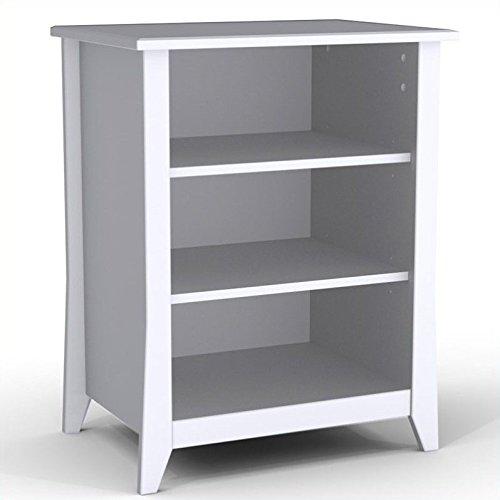 Nexera Vice Versa Stereo Cabinet 201003, White - Dvd Storage Armoire
