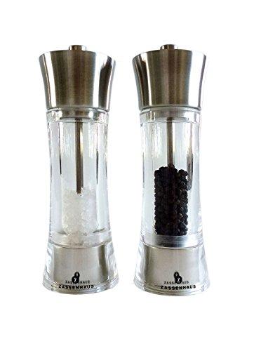 Zassenhaus Pepper + Salt Mill 7.0-inch ()