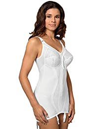 firm control corselette suspenders zip 36 38 40 42 44 46 B C D DD E