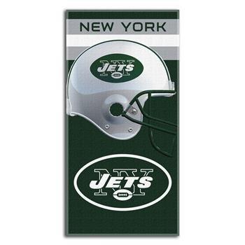 (NFL New York Jets Banner Beach Towel, 30 x)