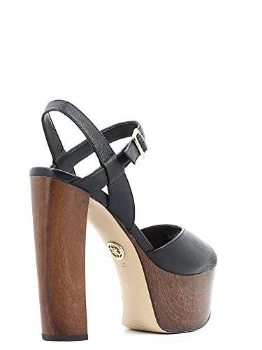 Guess FLDE21 LEA03 Sandalo tacco Donna Nero 38