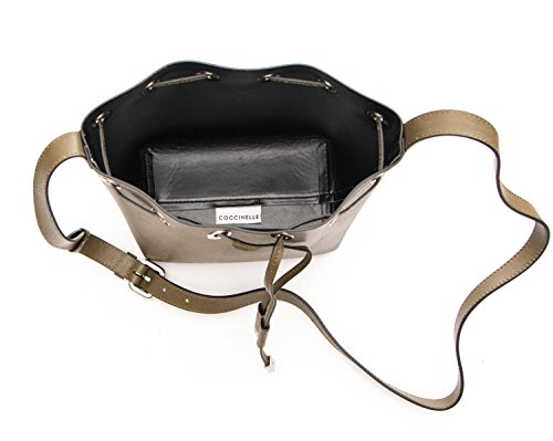 Donna Borsa Mini Coccinelle Pelle Bag Bag Saffiano Pelle VV3230582116 Kaki Mini Coccinelle Borsa Donna wpdZpE