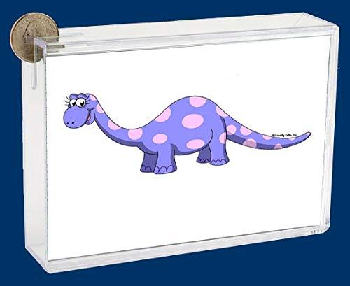 Pesonalized Bank: Dino – Female Great for Dinosaur Lover, Children, Room dÃcor, Nursery
