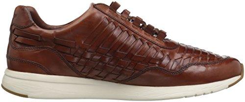 Cole Haan Heren Grandpro Runner Huarache Sneaker Woodbury Woven Polished