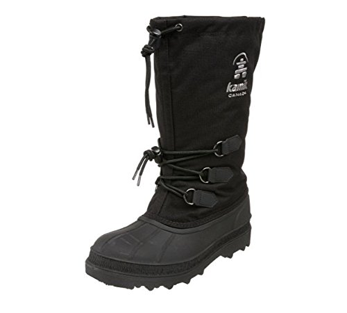 Kamik Men's Canuck Cold Weather Boot,Black,10 M US