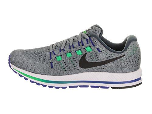 Nike Mens Air Zoom Vomero 12 Running Shoes Stealth/Black/Blue Fox b3AtZ0