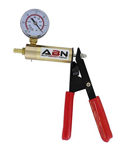 ABN Hand Held Brake Bleeder 15pc Kit BMC Universal Vacuum Pump & Brake Bleeding Tester Set Auto Service & Food Canning by ABN (Image #4)