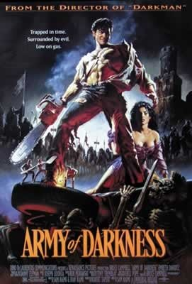 Army of Darkness Cult Horror One Sheet Movie Poster 27 x 40