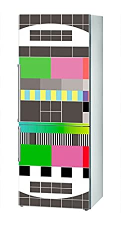 Decusto - Test Pattern - Adhesivo para Decorar Tu Nevera: Amazon ...
