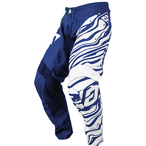 Answer Racing A19.5 Syncron Flow Men's Off-Road Motorcycle Pants - Reflex Blue/Astana/White / 42