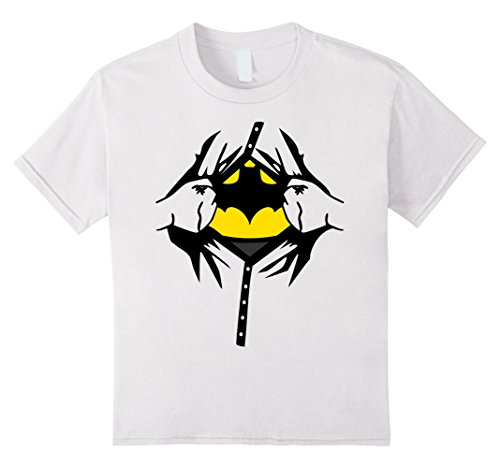 Woman Superhero Costumes Ideas (Kids Superhero Costume Man Woman Kids Birthday Gift Idea T shirt 10 White)