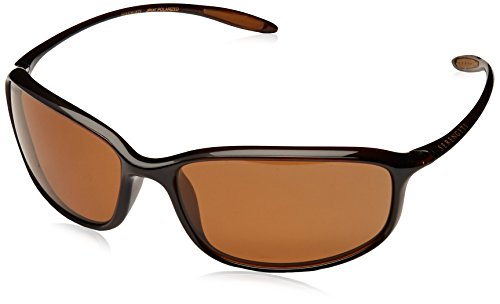 (Serengeti Sestriere Polarized Drivers Sunglasses, Sanded Dark Root Beer)