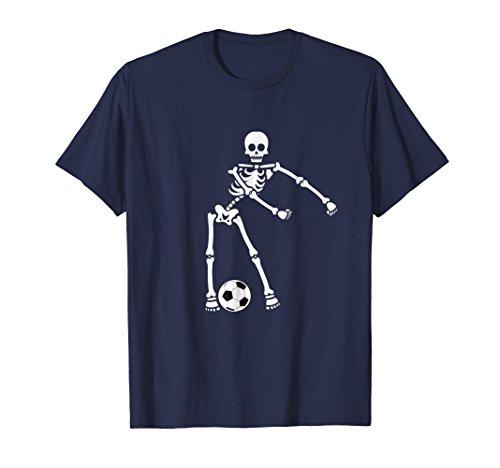 Skeleton Soccer Halloween Tshirt Flossing Dance Costume Kids -
