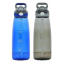 Contigo Autospout Addison Water Bottle, 32oz - Monaco & Smoke by Contigo