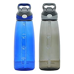 Contigo Autospout Addison Water Bottle, 32oz - Monaco & Smoke
