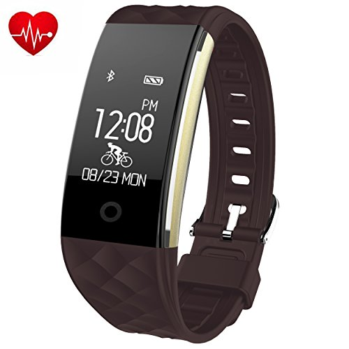 Juboury Heart Rate Activity Tracker Touch Screen (Large Image)