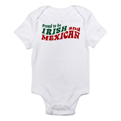 Proud Irish Girl (CafePress - Proud Irish Mexican Infant Bodysuit - Cute Infant Bodysuit Baby)