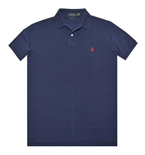 Polo Ralph Lauren Mens Polo Shirt Classic Fit (M, Newport - Ralph Shirt Lauren Fit Classic