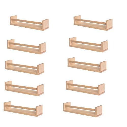 Amazon.com Ikea 10 Wooden Spice Racks Accessory Storage Organizer Birch Natural Wood Office Products  sc 1 st  Amazon.com & Amazon.com: Ikea 10 Wooden Spice Racks Accessory Storage Organizer ...