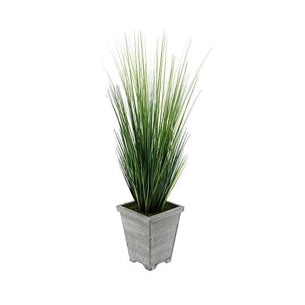 House-of-Silk-Flowers-Artificial-4ft-PVC-Grass-in-Washed-Wood-Planter