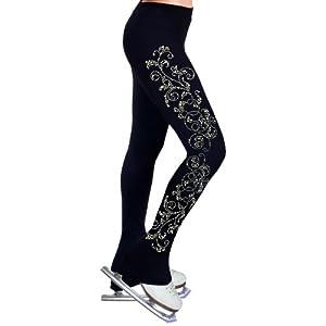 ny2 Sportswear Figure Skating Practice Pants with Rhinestones R52