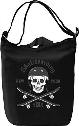 New york skateboarding team Borsa Giornaliera Canvas Canvas Day Bag| 100% Premium Cotton Canvas| DTG Printing|