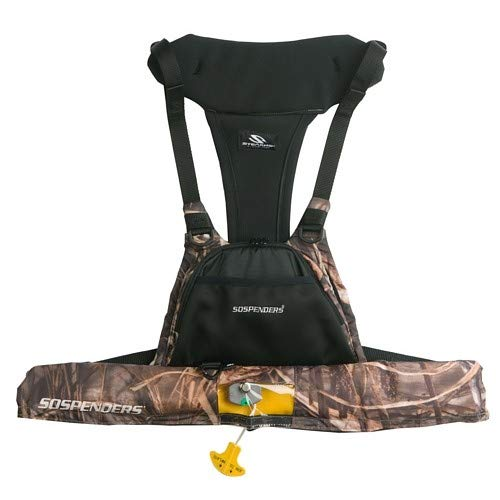 Stearns 4430 16g Manual Inflatable Vest - Camo ()