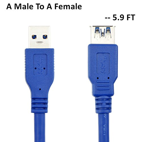 USB 3.0 AM to AF Extension 1.5M Cable - 1
