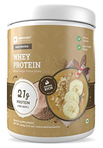 Well versed Whey Protein Powder