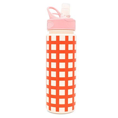 Lattice Bottle - ban.do Work It Out Lattice Water Bottle, Multicolor