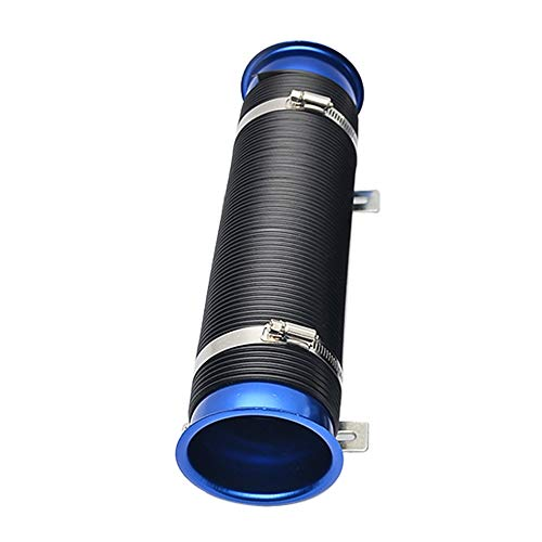(Air Intakes Car modification supplies telescopic tube ventilation tube intake air pipe expandable cold air intake kit Car Styling)
