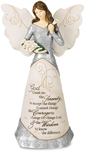 Pavilion Gift Company 82332 Serenity Angel Figurine, 9-Inch ()