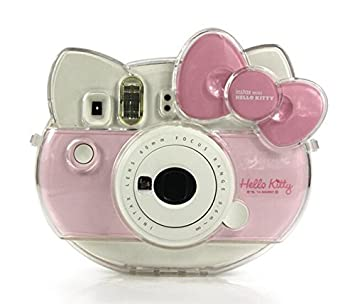 CAIUL Transparent Camera Case For Fujifilm Instant Cheki Instax Mini Hello Kitty INS MINI KIT