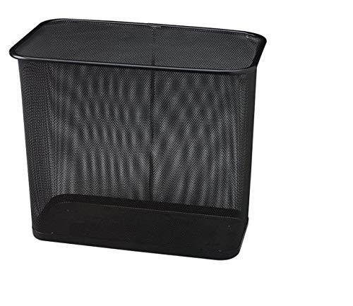 (RCPWMB30RBK - United Receptacle Steel Mesh Rectangle Wastebasket)