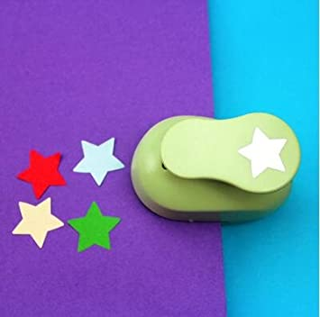 Fascola 5//8 Paper Craft Punch,card Scrapbooking Engraving Kid Cut DIY Handmade Hole Puncher Apple