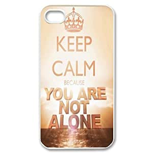 You are not alone in this Unique Design Case for Iphone 4,4S, New Fashion You are not alone in this Case by supermalls