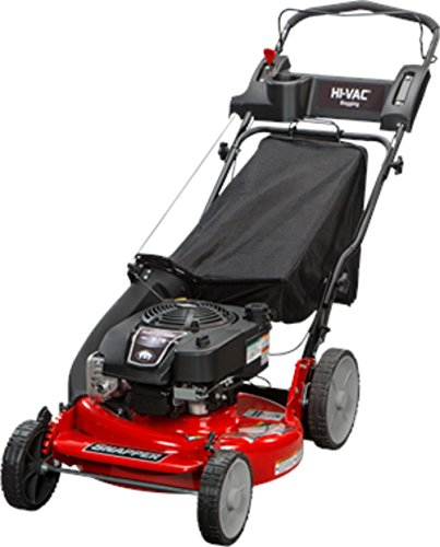 Snapper 2185020 / 7800979 HI VAC 190cc 3-N-1 Push Lawn Mower with 21-Inch Mower Deck and ReadyStart System and 7 Position Height-of-Cut (Best Commercial Walk Behind Mower For Hills)