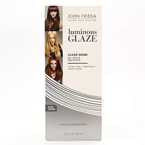 (John Frieda Luminous Glaze Clear Shine Gloss, 6.5 Ounces)