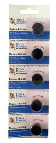 PetSafe Compatible RFA-188 Replacement Battery 5 ()