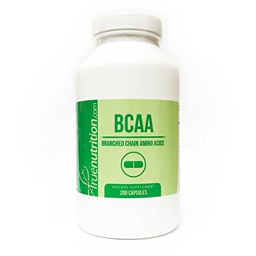 True Nutrition BCAA 500mg Capsules (200 Capsules)