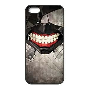 Tokyo Ghoul 006 funda iPhone 5 5S Negro de la cubierta del teléfono celular de la cubierta del caso funda EVAXLKNBC09945