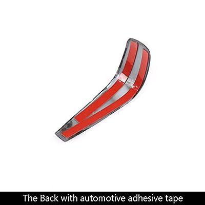 YIWANG Carbon Fiber Style ABS Car Center Gear Shift Head Cover Trim for BMW E48 E61 E64 E65 E85 E86 E53 E81 E82 E87 E90 E91 E92 E93 F01 E87 1 Series 5 Door Hatchback: Automotive