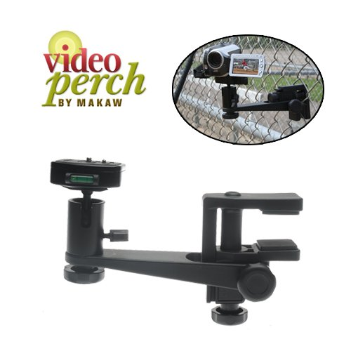 Makaw Video Perch Camera Mount Clamp with Ballhead and Quick