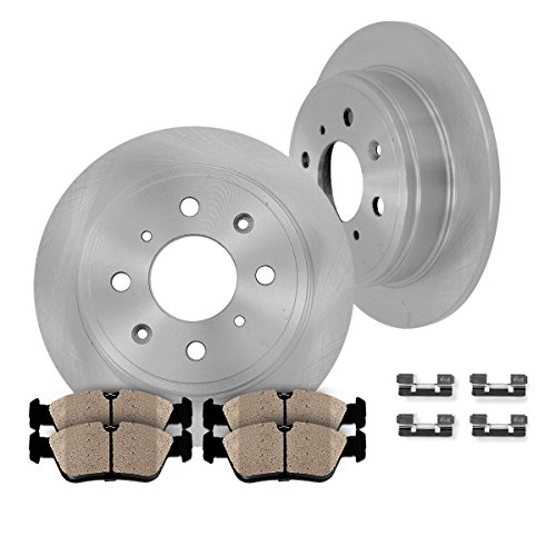 Front Rotors /& Pads 2000-2004 Ford F450 F550 REAR WHEEL DRIVE 14.5 INCH DIAMETER