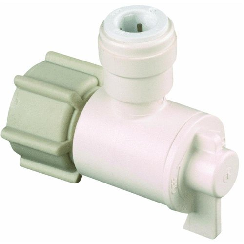 Watts P-675 Quick Connect Female Angle Valve, 1/2-Inch FIP x 1/4-Inch CTS by Watts