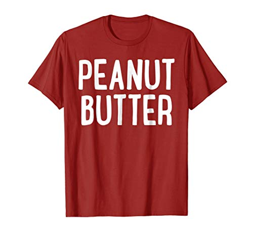 Peanut Butter T-Shirt Matching Halloween Costume -