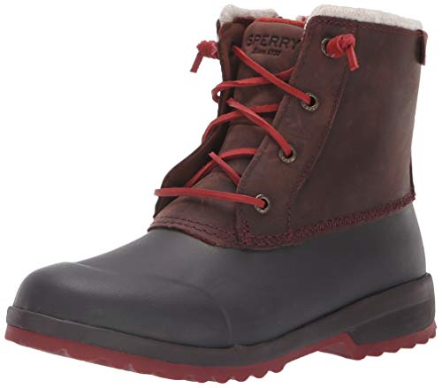 SPERRY Women's Maritime Repel Snow Boot, Brown, 7 M US (Snow Boots Sperry)