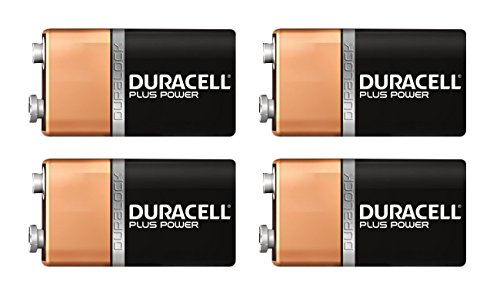Duracell Coppertop 9v Batteries - 9 Volt Duracell Alkaline Batteries Coppertop MN1604 (Pack of 16 (1 battery each))