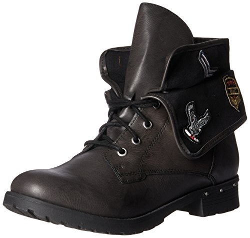 amp; Rock Black Faux Fashion Deane Candy Women's Boot 7xxUpqaw