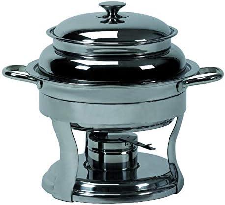 Hornillo baño María para sopa de acero inoxidable: Amazon.es